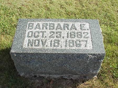 BINTNER, BARBARA E. - Audubon County, Iowa   BARBARA E. BINTNER
