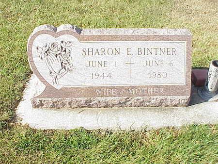 BINTNER, SHARON  E. - Audubon County, Iowa   SHARON  E. BINTNER