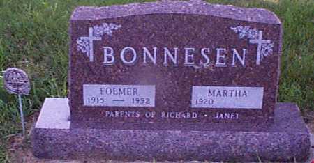 BONNESEN, FOLMER J - Audubon County, Iowa   FOLMER J BONNESEN