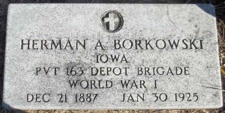 BORKOWSKI, HERMAN A. - Audubon County, Iowa   HERMAN A. BORKOWSKI