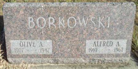 BORKOWSKI, ALFRED A. - Audubon County, Iowa | ALFRED A. BORKOWSKI