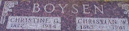 BOYSEN, CHRISTIAN W - Audubon County, Iowa | CHRISTIAN W BOYSEN