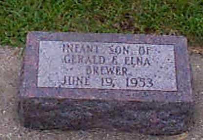 BREWER, INFANT - Audubon County, Iowa | INFANT BREWER