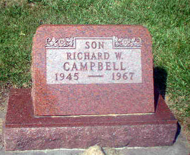 CAMPBELL, RICHARD W. - Audubon County, Iowa   RICHARD W. CAMPBELL