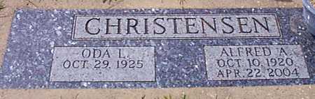 CHRISTENSEN, ALFRED A - Audubon County, Iowa   ALFRED A CHRISTENSEN