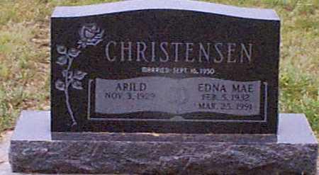 CHRISTENSEN, ARILD - Audubon County, Iowa   ARILD CHRISTENSEN