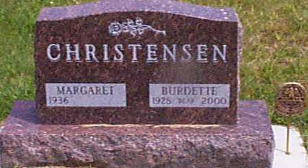 CHRISTENSEN, MARGARET - Audubon County, Iowa | MARGARET CHRISTENSEN