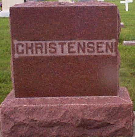 CHRISTENSEN, CHRISTEN - Audubon County, Iowa | CHRISTEN CHRISTENSEN