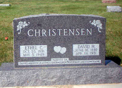 CHRISTENSEN, ETHEL C. - Audubon County, Iowa | ETHEL C. CHRISTENSEN