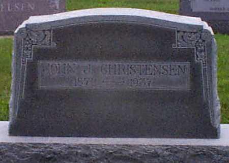 CHRISTENSEN, JOHN J - Audubon County, Iowa | JOHN J CHRISTENSEN
