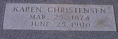 CHRISTENSEN, KAREN - Audubon County, Iowa | KAREN CHRISTENSEN