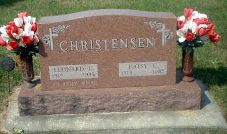 CHRISTENSEN, LEONARD C. - Audubon County, Iowa | LEONARD C. CHRISTENSEN