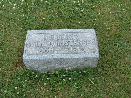 CHRISTENSEN, STINE - Audubon County, Iowa   STINE CHRISTENSEN