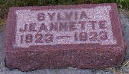 CHRISTENSEN, SYLVIA JEANETTE - Audubon County, Iowa   SYLVIA JEANETTE CHRISTENSEN