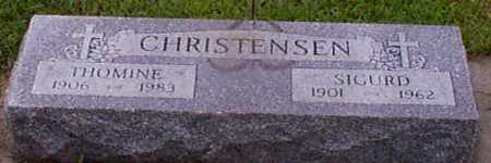 CHRISTENSEN, SIGURD - Audubon County, Iowa | SIGURD CHRISTENSEN