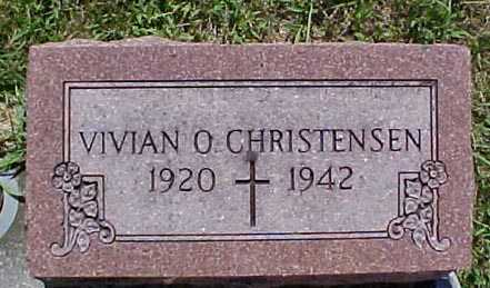 CHRISTENSEN, VIVIAN O. - Audubon County, Iowa   VIVIAN O. CHRISTENSEN