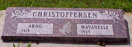 CHRISTOFFERSEN, ARNO - Audubon County, Iowa   ARNO CHRISTOFFERSEN