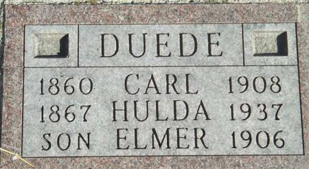 DUEDE, ELMER - Audubon County, Iowa | ELMER DUEDE