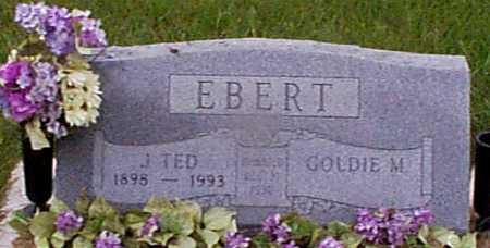 EBERT, GOLDIE M - Audubon County, Iowa | GOLDIE M EBERT