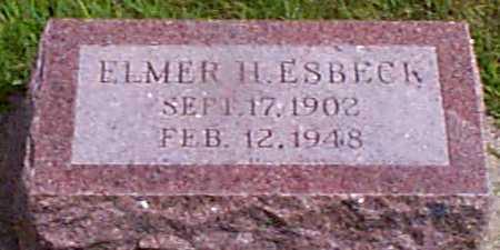 ESBECK, ELMER H - Audubon County, Iowa | ELMER H ESBECK