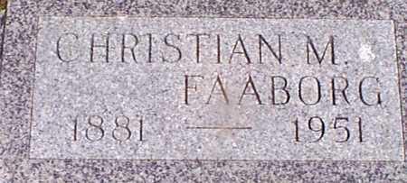 FAABORG, CHRISTIAN M - Audubon County, Iowa | CHRISTIAN M FAABORG