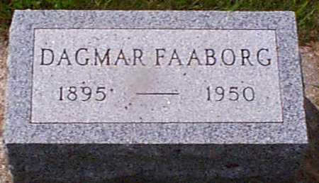 FAABORG, DAGMAR - Audubon County, Iowa | DAGMAR FAABORG