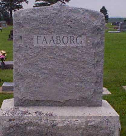 FAABORG, GEORGE - Audubon County, Iowa | GEORGE FAABORG