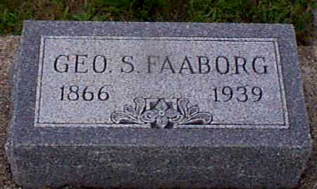 FAABORG, GEORGE S - Audubon County, Iowa | GEORGE S FAABORG