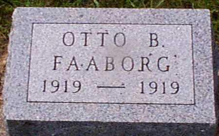 FAABORG, OTTO B - Audubon County, Iowa   OTTO B FAABORG