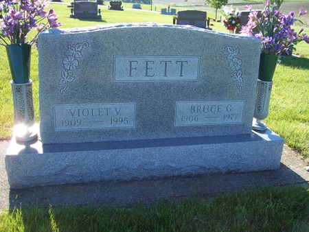 VARBLE FETT, VIOLET - Audubon County, Iowa | VIOLET VARBLE FETT