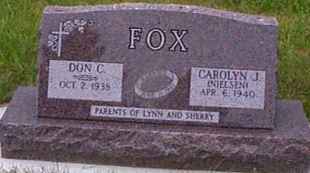 FOX, DON C - Audubon County, Iowa | DON C FOX