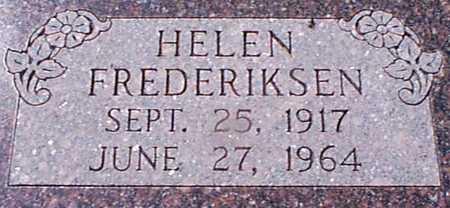 FREDERIKSEN, HELEN - Audubon County, Iowa | HELEN FREDERIKSEN