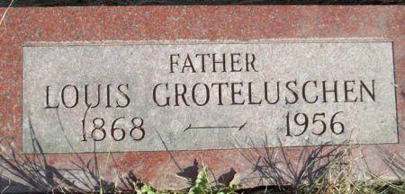 GROTELUSCHEN, LOUIS - Audubon County, Iowa   LOUIS GROTELUSCHEN