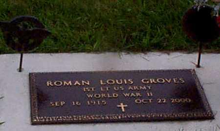GROVES, ROMAN LEWIS - Audubon County, Iowa   ROMAN LEWIS GROVES