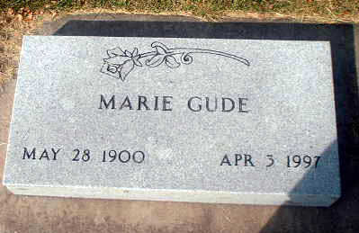 GUDE, MARIE - Audubon County, Iowa | MARIE GUDE