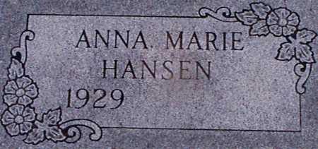 HANSEN, ANNA MARIE - Audubon County, Iowa | ANNA MARIE HANSEN