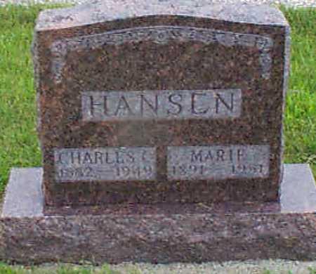 HANSEN, MARIE - Audubon County, Iowa   MARIE HANSEN