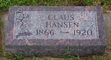 HANSEN, CLAUS - Audubon County, Iowa | CLAUS HANSEN