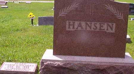 HANSEN, CHRIS L - Audubon County, Iowa | CHRIS L HANSEN