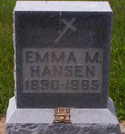 HANSEN, EMMA M - Audubon County, Iowa | EMMA M HANSEN