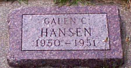 HANSEN, GALAN C - Audubon County, Iowa | GALAN C HANSEN