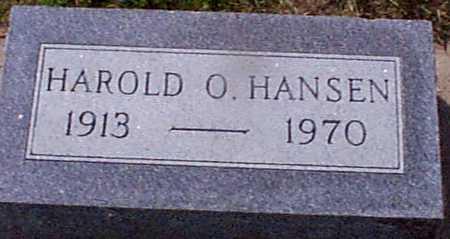 HANSEN, HAROLD O - Audubon County, Iowa | HAROLD O HANSEN