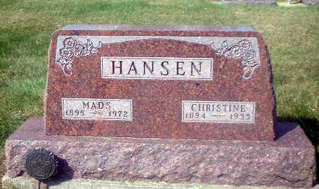 HANSEN, MADS - Audubon County, Iowa | MADS HANSEN