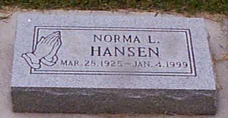HANSEN, NORMA L - Audubon County, Iowa | NORMA L HANSEN