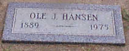 HANSEN, OLE J - Audubon County, Iowa | OLE J HANSEN