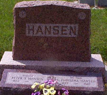 HANSEN, PETER T. - Audubon County, Iowa | PETER T. HANSEN