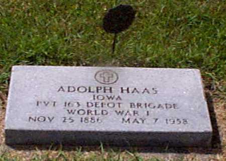 HAAS, ADOLPH - Audubon County, Iowa | ADOLPH HAAS