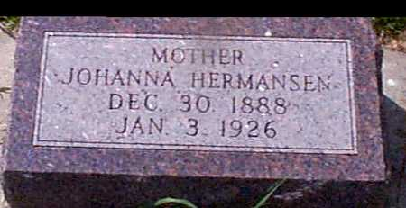 HERMANSEN, JOHANNA - Audubon County, Iowa | JOHANNA HERMANSEN