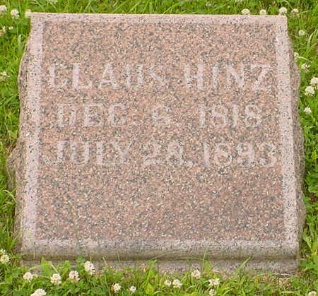 HINZ, CLAUS - Audubon County, Iowa | CLAUS HINZ