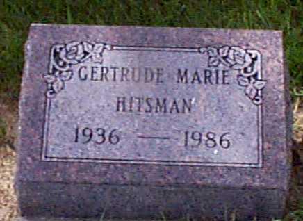 HITSMAN, GERTRUDE MARIE - Audubon County, Iowa | GERTRUDE MARIE HITSMAN